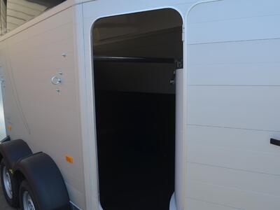 Humbaur Single Alu 1600 Sattelkammer