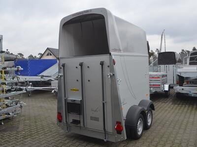 Humbaur Single Alu 1600 Silver metallic