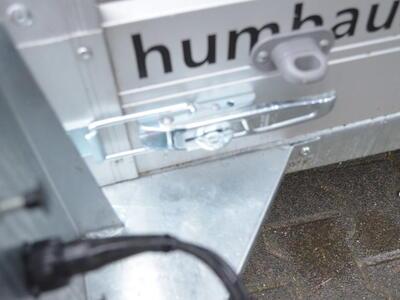 Humbaur HKT 152515 S Senkanhänger mit Plane - Schwarz
