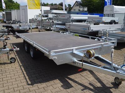 Mietanhänger 18 Autotransporter 3500 Kh 4500x2200 mm