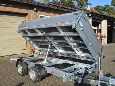 Hapert Cobalt HM2 3000 Kg 400er Bordwände E&H Pumpe