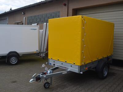 Humbaur Startrailer 132513 Plane gelb