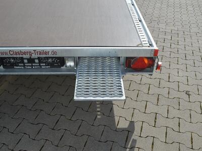 Humbaur MTK 304722 geschlossener Holzboden ohne Standschienen