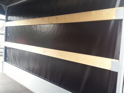 Anssems PSX 2500 kg Schwarze Plane