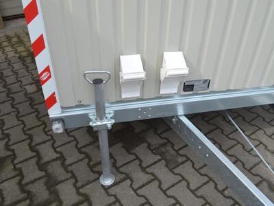 Weiro Rasant Bauwagen Schnellläufer - Grau