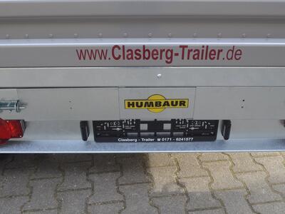 Humbaur HTK 3000.31 E-Pumpe Stahl