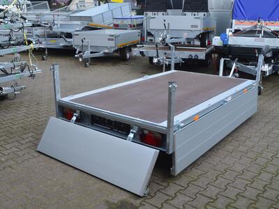 Eduard Hochlader 1500 Kg 2600x1500x400 mm 10 Zoll Schienen