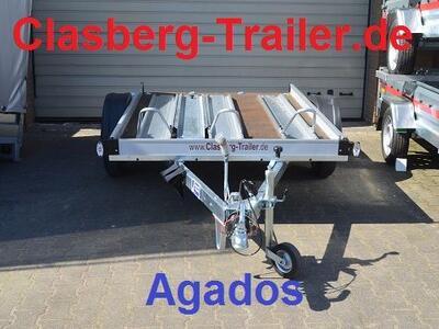 Agados 1000 Kg 3 er geschl. Ladefläche
