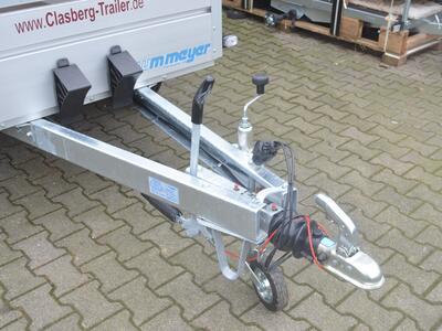 WM-Meyer BT 2025-126 Mit Alulaubaufsatz