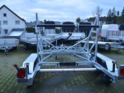TA-NO Kabeltrommelanhänger 3000 kg Elektrische Seilwinde