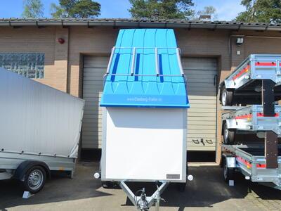 Agados Koffer 750 Kg Deckel Blau