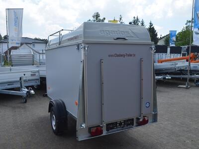 Agados Koffer 750 Kg Deckel Grau