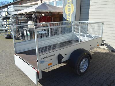 Humbaur Startrailer 132513 Laubgitter