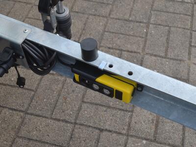 Humbaur HUK 152715 E-Pumpe Alulaubgitter