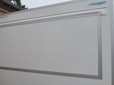 WM-Meyer VKE 1337/206 Verkaufsanhänger 1 Klappe