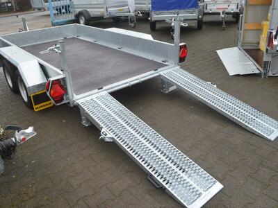 Humbaur HS 303016 Baumaschienentransporter