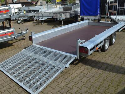 Vlemmix Baumaschinentransporter 3500 kg 400x180