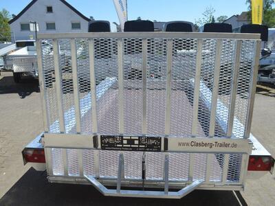 Vlemmix Baumaschinentransporter 3500 kg 400x180 3 Achsen