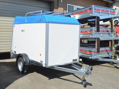 Agados Kofferanhänger 750 kg - Blau