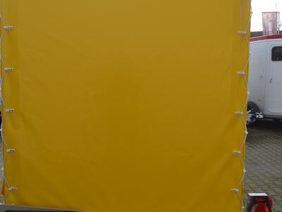 Humbaur HKT 183117 mit Plane - Gelb